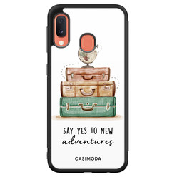 Casimoda Samsung Galaxy A20e hoesje - Wanderlust
