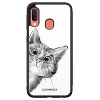 Casimoda Samsung Galaxy A20e hoesje - Peekaboo