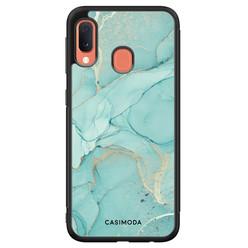 Casimoda Samsung Galaxy A20e hoesje - Touch of mint