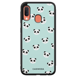 Casimoda Samsung Galaxy A20e hoesje - Panda print