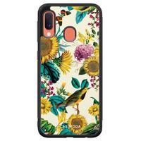 Casimoda Samsung Galaxy A20e hoesje - Sunflowers