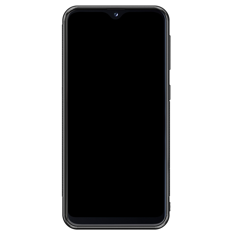 Casimoda Samsung Galaxy A20e hoesje - Luipaard marmer mint