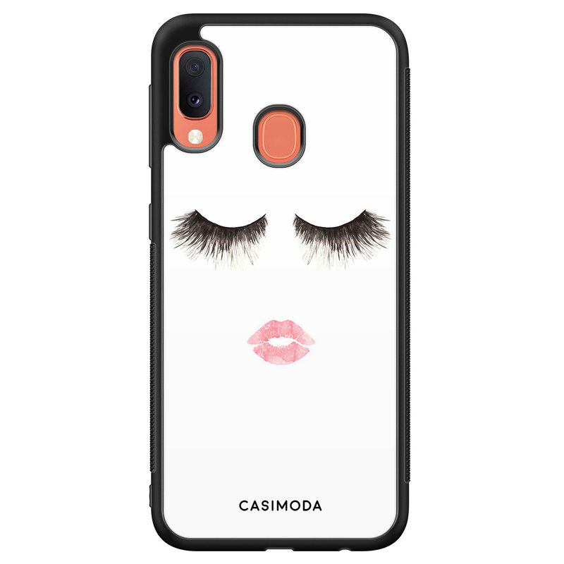 Casimoda Samsung Galaxy A20e hoesje - Kiss wink