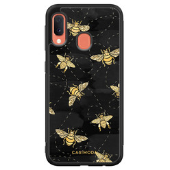Casimoda Samsung Galaxy A20e hoesje - Bee yourself
