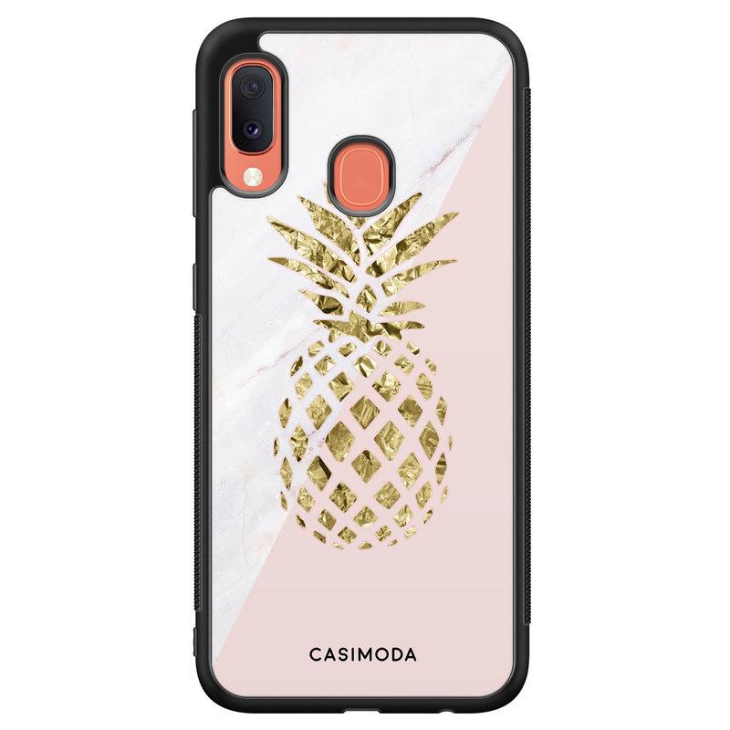 Casimoda Samsung Galaxy A20e hoesje - Ananas