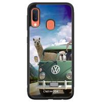 Casimoda Samsung Galaxy A20e hoesje - Lama adventure
