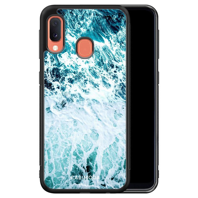 Casimoda Samsung Galaxy A20e hoesje - Oceaan