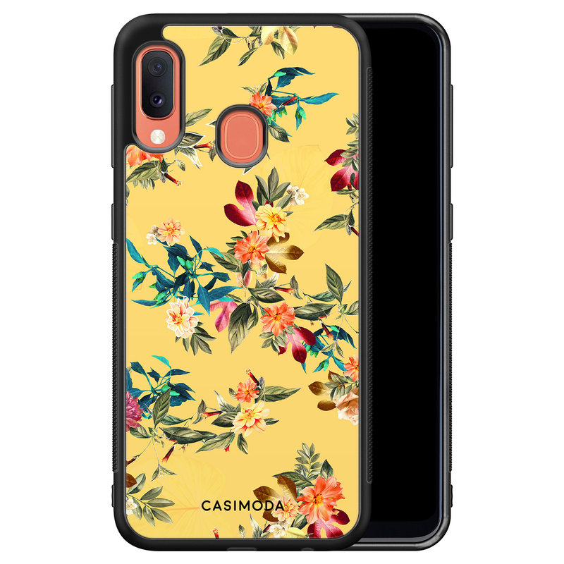 Casimoda Samsung Galaxy A20e hoesje - Florals for days