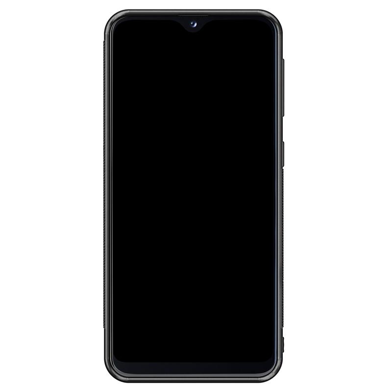 Casimoda Samsung Galaxy A20e hoesje - Abstract marmer blauw