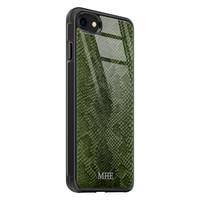 iPhone SE 2020 glazen hoesje ontwerpen - Snake mix
