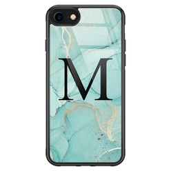iPhone SE 2020 glazen hoesje ontwerpen - Touch of mint