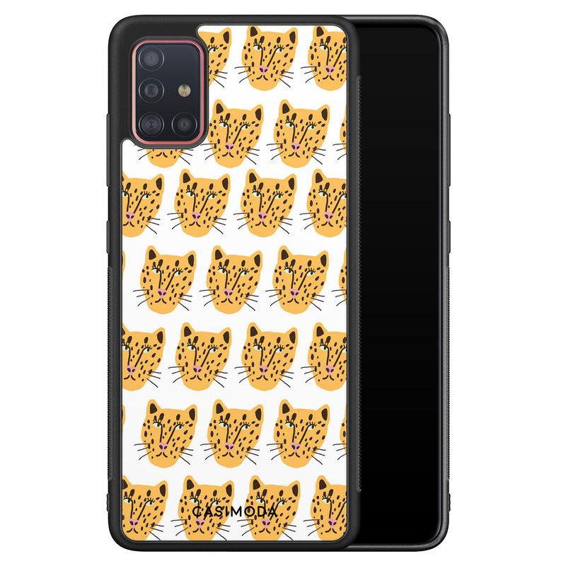 Casimoda Samsung Galaxy A71 hoesje - Got my leopard