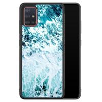 Casimoda Samsung Galaxy A71 hoesje - Oceaan