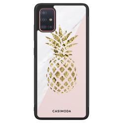 Casimoda Samsung Galaxy A71 hoesje - Ananas