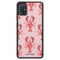 Casimoda Samsung Galaxy A71 hoesje - Lobster all the way