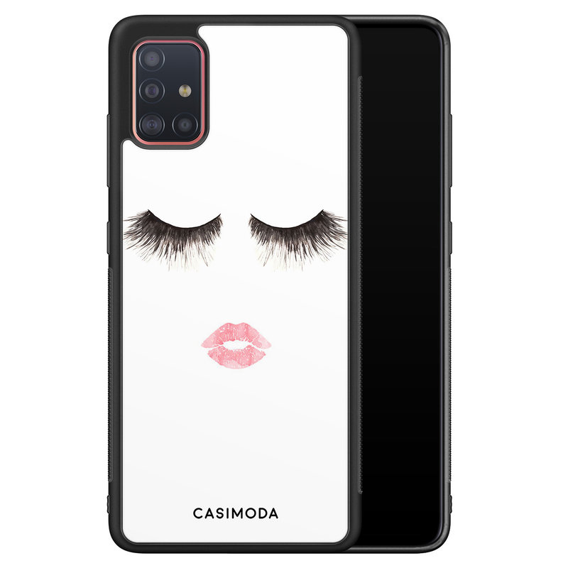 Casimoda Samsung Galaxy A71 hoesje - Kiss wink