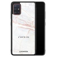 Casimoda Samsung Galaxy A71 hoesje - C'est la vie