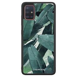 Casimoda Samsung Galaxy A71 hoesje - Jungle