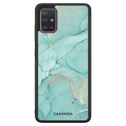 Casimoda Samsung Galaxy A71 hoesje - Touch of mint