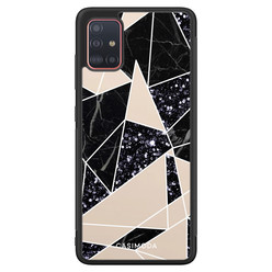 Casimoda Samsung Galaxy A71 hoesje - Abstract painted