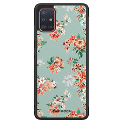 Casimoda Samsung Galaxy A71 hoesje - Lovely flowers