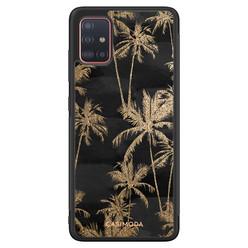 Casimoda Samsung Galaxy A71 hoesje - Palmbomen