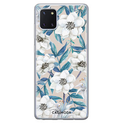 Casimoda Samsung Galaxy Note 10 Lite siliconen hoesje - Touch of flowers