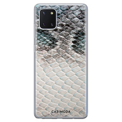 Casimoda Samsung Galaxy Note 10 Lite siliconen hoesje - Oh my snake