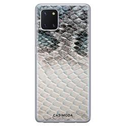 Casimoda Samsung Galaxy Note 10 Lite siliconen hoesje - Oh my snake