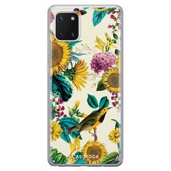 Casimoda Samsung Galaxy Note 10 Lite siliconen hoesje - Sunflowers