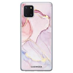 Casimoda Samsung Galaxy Note 10 Lite siliconen hoesje - Purple sky
