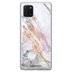 Casimoda Samsung Galaxy Note 10 Lite siliconen hoesje - Parelmoer marmer