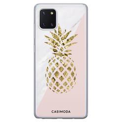 Casimoda Samsung Galaxy Note 10 Lite siliconen hoesje - Ananas