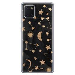Casimoda Samsung Galaxy Note 10 Lite siliconen hoesje - Counting the stars