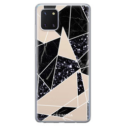 Casimoda Samsung Galaxy Note 10 Lite siliconen hoesje - Abstract painted