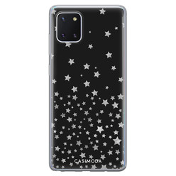 Casimoda Samsung Galaxy Note 10 Lite siliconen hoesje - Falling stars