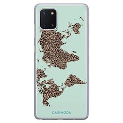 Casimoda Samsung Galaxy Note 10 Lite siliconen hoesje - Wild world