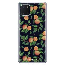 Casimoda Samsung Galaxy Note 10 Lite siliconen hoesje - Orange lemonade