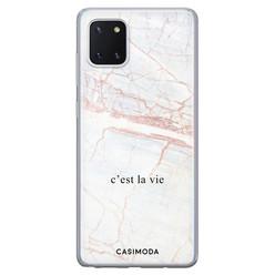 Casimoda Samsung Galaxy Note 10 Lite siliconen hoesje - C'est la vie