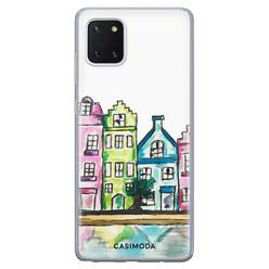 Casimoda Samsung Galaxy Note 10 Lite siliconen hoesje - Amsterdam