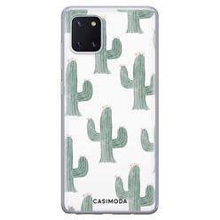 Casimoda Samsung Galaxy Note 10 Lite siliconen hoesje - Cactus print