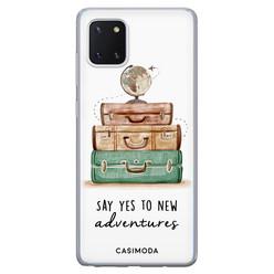 Casimoda Samsung Galaxy Note 10 Lite siliconen hoesje - Wanderlust