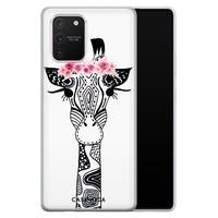 Casimoda Samsung Galaxy S10 Lite siliconen telefoonhoesje - Giraffe