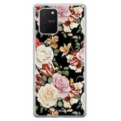 Casimoda Samsung Galaxy S10 Lite siliconen hoesje - Flowerpower