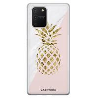 Casimoda Samsung Galaxy S10 Lite siliconen hoesje - Ananas