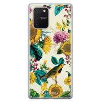 Casimoda Samsung Galaxy S10 Lite siliconen hoesje - Sunflowers