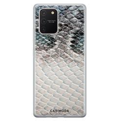 Casimoda Samsung Galaxy S10 Lite siliconen hoesje - Oh my snake