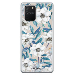 Casimoda Samsung Galaxy S10 Lite siliconen hoesje - Touch of flowers