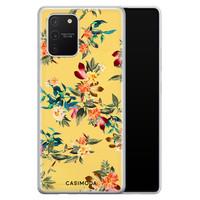 Casimoda Samsung Galaxy S10 Lite siliconen hoesje - Floral days