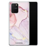 Casimoda Samsung Galaxy S10 Lite siliconen hoesje - Purple sky